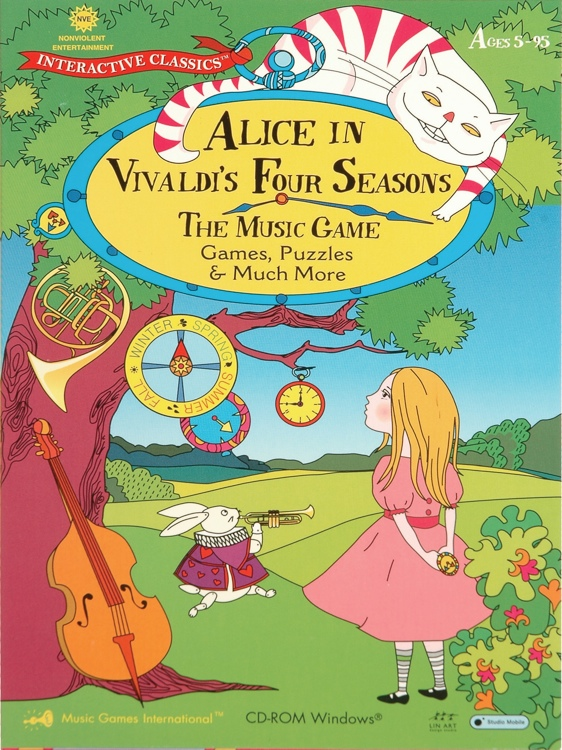Music Games International Alice in Vivaldi\'s Four Seasons Game image 1