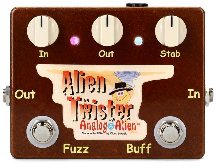 Analog Alien Alien Twister Fuzz / Buffer Pedal image 1