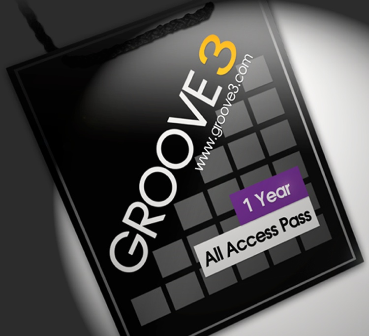Groove3 All Access Pass - 1-Year Membership image 1