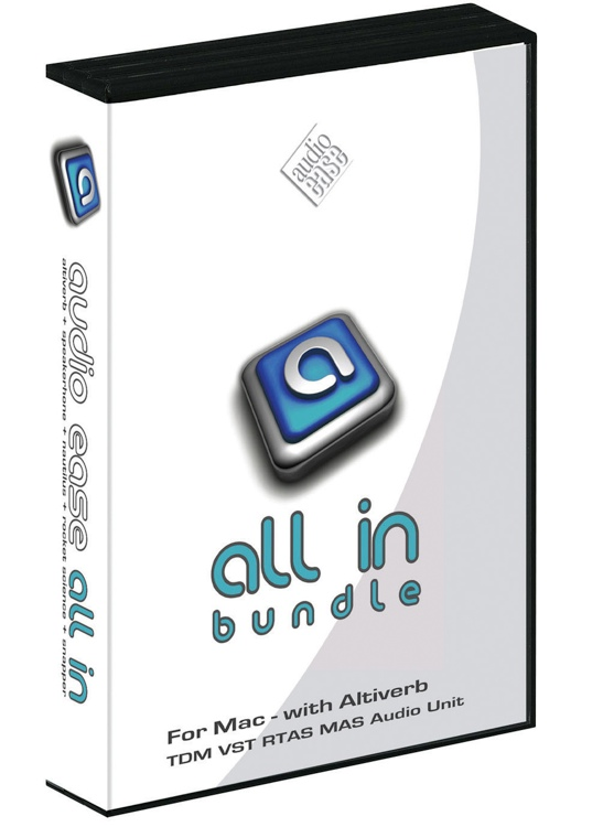 Audio Ease All In Bundle Upgrade from Altiverb 6 or Altiverb 6 XL image 1
