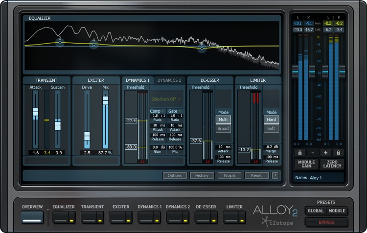 iZotope Alloy 2 Signal Processing Software Suite - Academic Version image 1