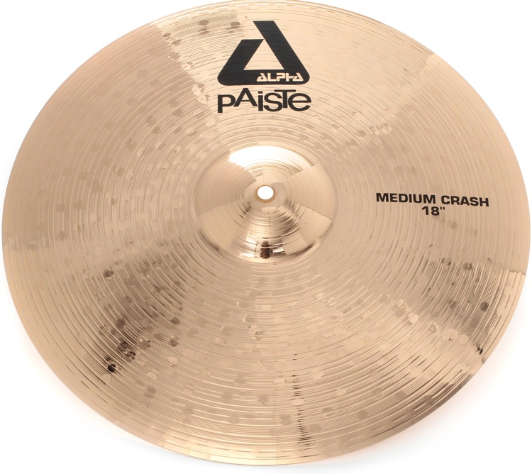 Paiste Alpha B Medium Crash - 18