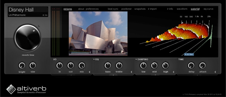 Audio Ease Altiverb 7 XL Plug-in (download) image 1
