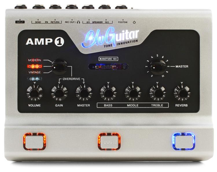 BluGuitar Amp1 100-watt 4-channel Pedalboard Amp with Nanotube image 1