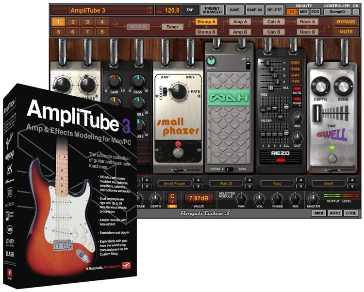 IK Multimedia AmpliTube 3 - Educational Version image 1