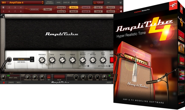 IK Multimedia AmpliTube 4 Software Suite image 1