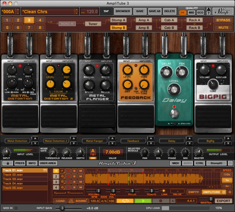 IK Multimedia AmpliTube Metal Software Suite image 1