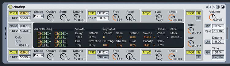 Ableton Analog - Software Instrument for Live image 1