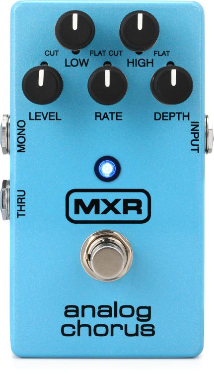 mxr m234 analog chorus pedal sweetwater. Black Bedroom Furniture Sets. Home Design Ideas