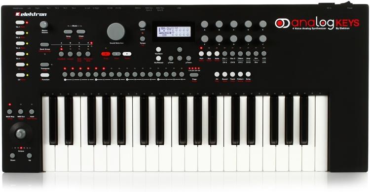 elektron analog keys is discontinued analog keys four elektronauts. Black Bedroom Furniture Sets. Home Design Ideas