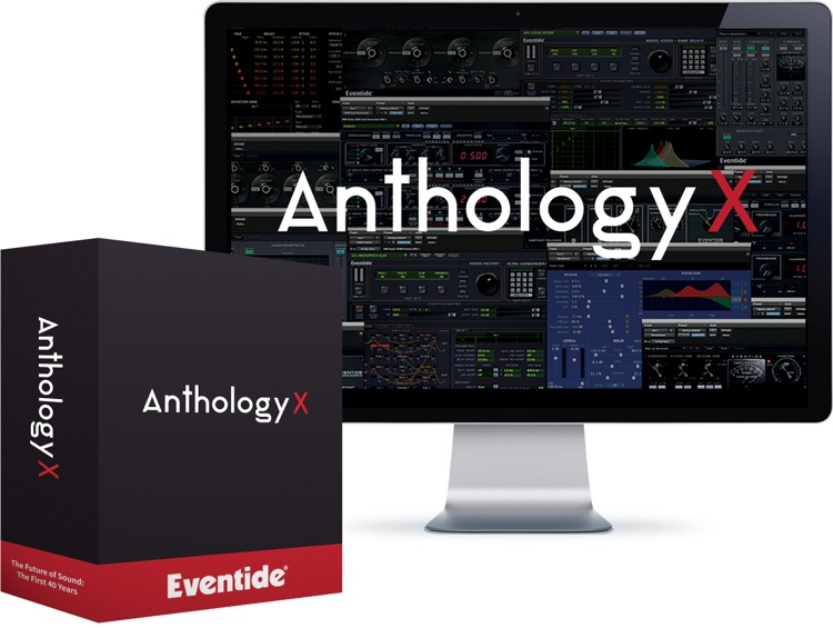 Eventide Anthology X Plug-in Bundle - Upgrade from 3 or More Eventide Plug-ins image 1