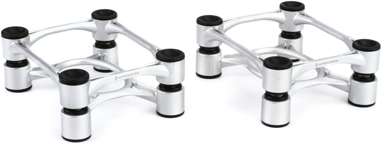 IsoAcoustics Aperta Isolation Stands - Aluminum (pair) image 1
