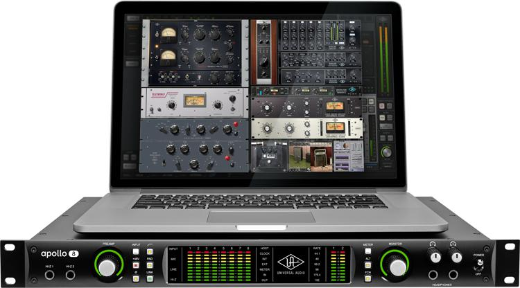 universal audio apollo 8 duo thunderbolt 2 audio interface sweetwater. Black Bedroom Furniture Sets. Home Design Ideas