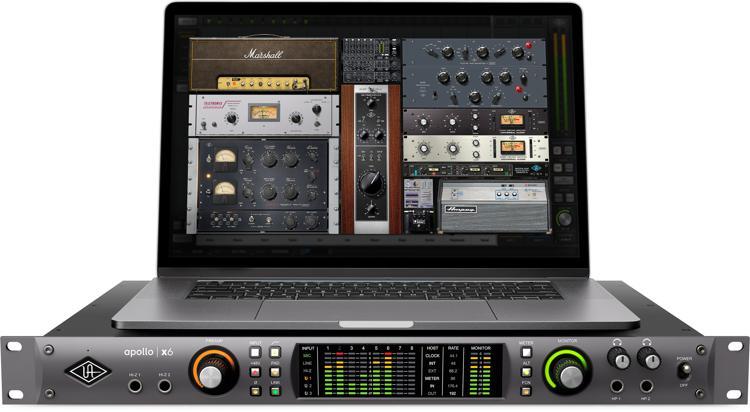 Universal Audio Apollo x6 16x22 Thunderbolt 3 Audio Interface with UAD DSP