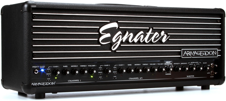 Egnater Armageddon 120-watt Tube Amp Head image 1