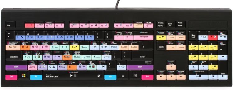 LogicKeyboard Astra PC Backlit Keyboard - PreSonus Studio One image 1