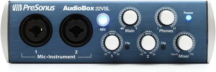 PreSonus AudioBox 22VSL image 1