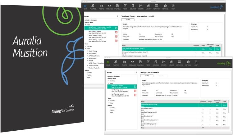 Rising Software Auralia 5/Musition 5 Multi-User Site License (per seat) image 1
