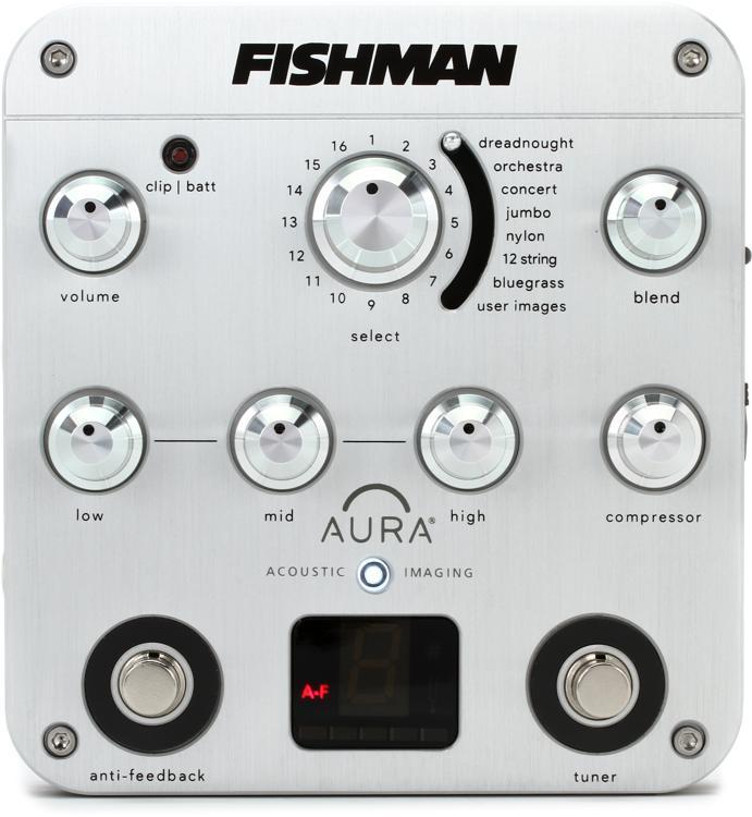 Fishman Aura Spectrum DI Imaging Pedal with D.I. image 1