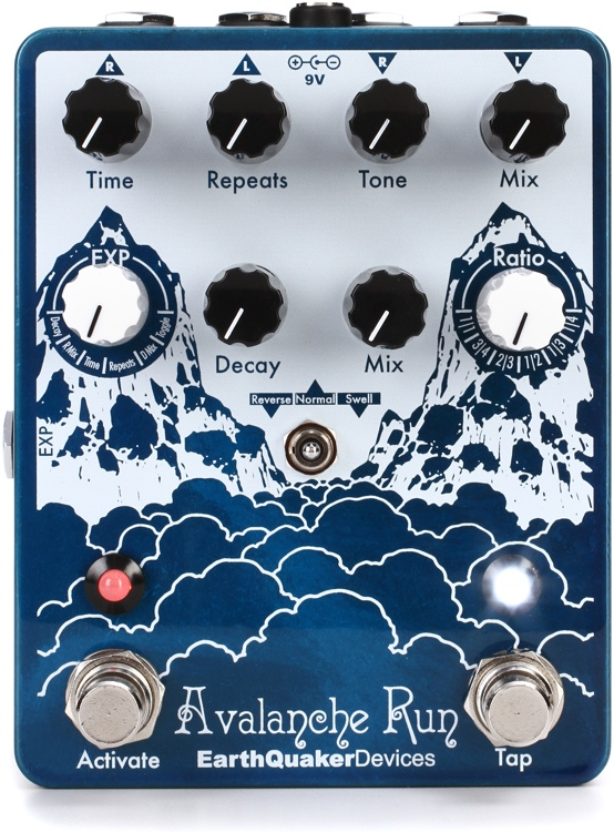 EarthQuaker Devices Avalanche Run Delay and Reverb Pedal image 1