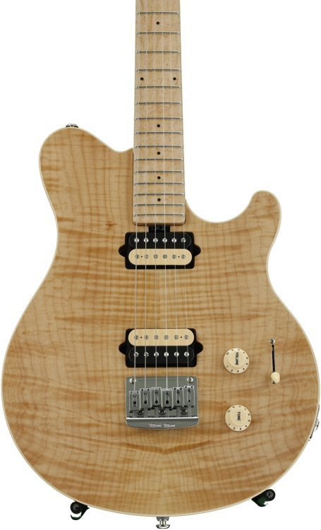 ernie ball music man axis super sport standard natural sweetwater. Black Bedroom Furniture Sets. Home Design Ideas