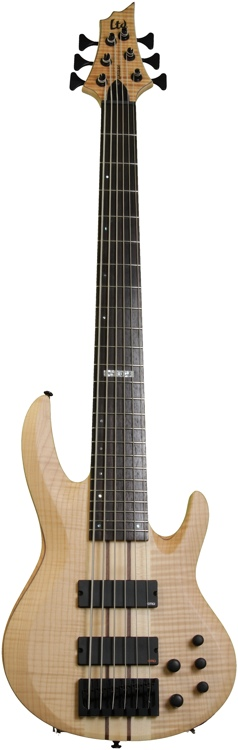 ESP LTD B-1006 - 6-string, Natural Satin image 1
