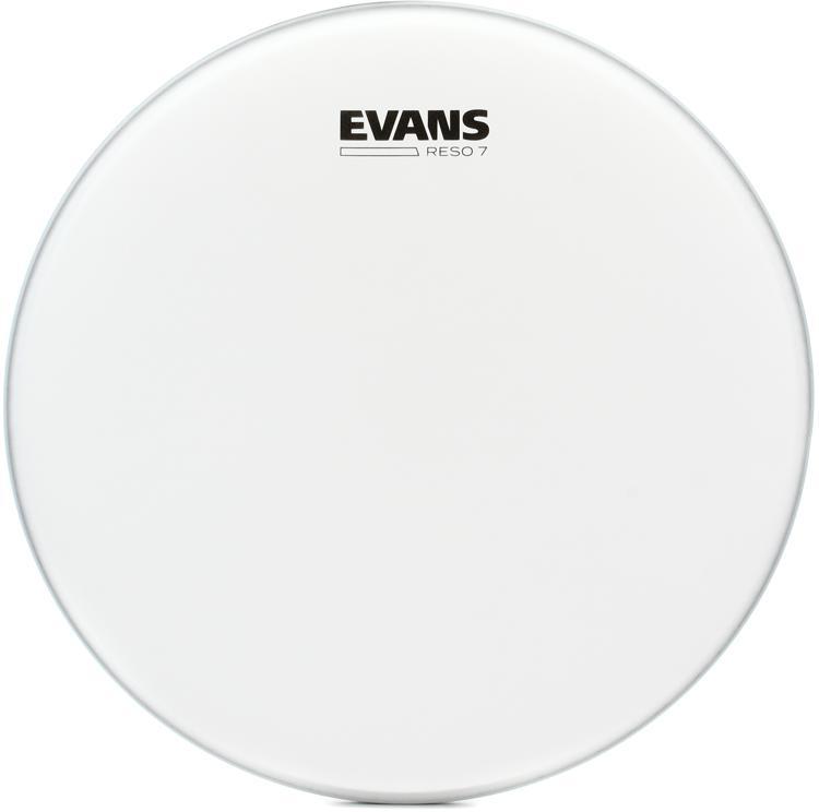 Evans Reso 7 Coated Resonant Drum Head - 13