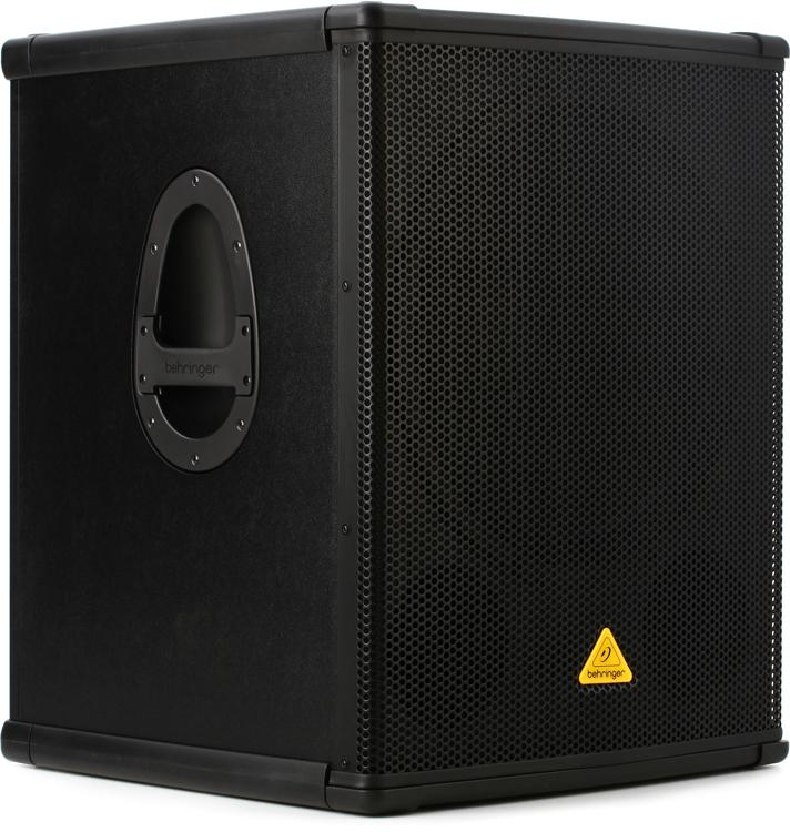 behringer eurolive b1800x pro 1800w 18 passive subwoofer sweetwater. Black Bedroom Furniture Sets. Home Design Ideas