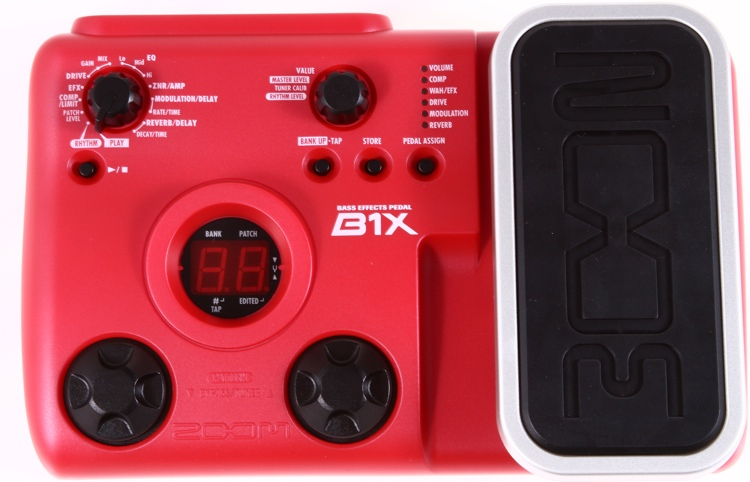 Zoom B1x Bass Effects Pedal image 1