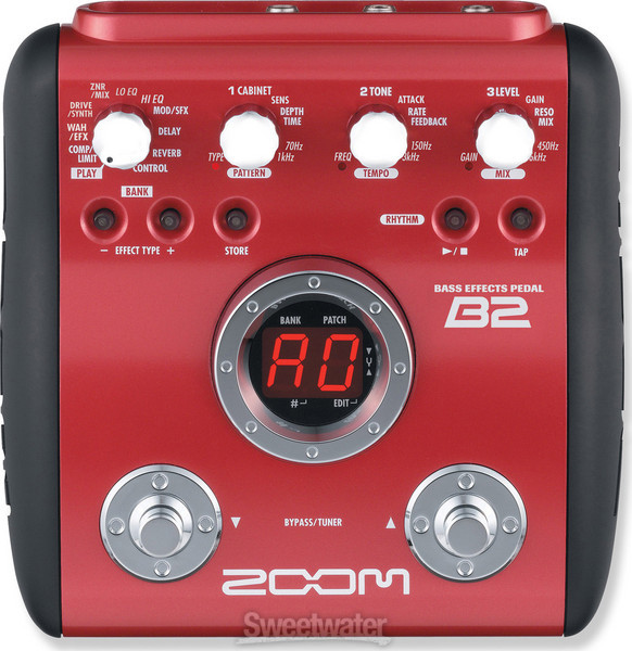 Zoom B2 Bass Effects Pedal image 1