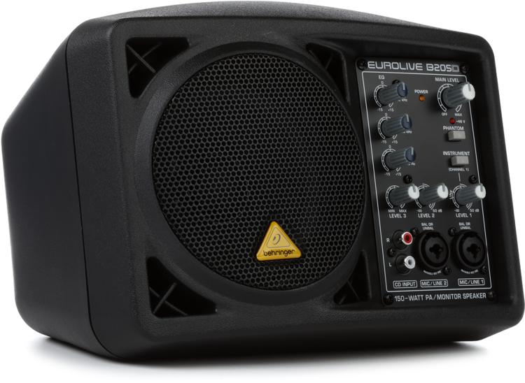 Behringer Eurolive B205D 150W Powered Monitor Speaker