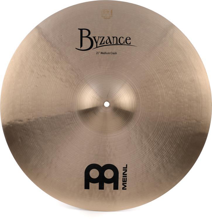 Meinl Cymbals Byzance Traditional Medium Crash - 21