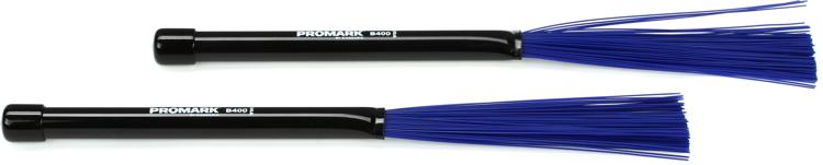 Promark B400 Retractable Nylon Brush - Blue, Fine image 1