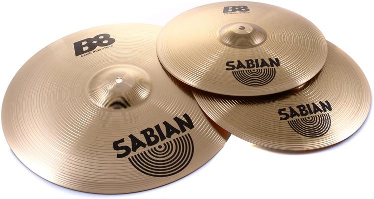 Sabian B8 2-Pack Set image 1