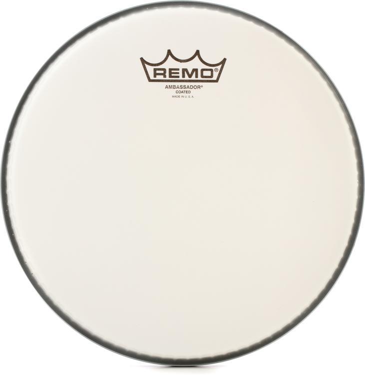 Remo Coated Ambassador Drum Head - 10