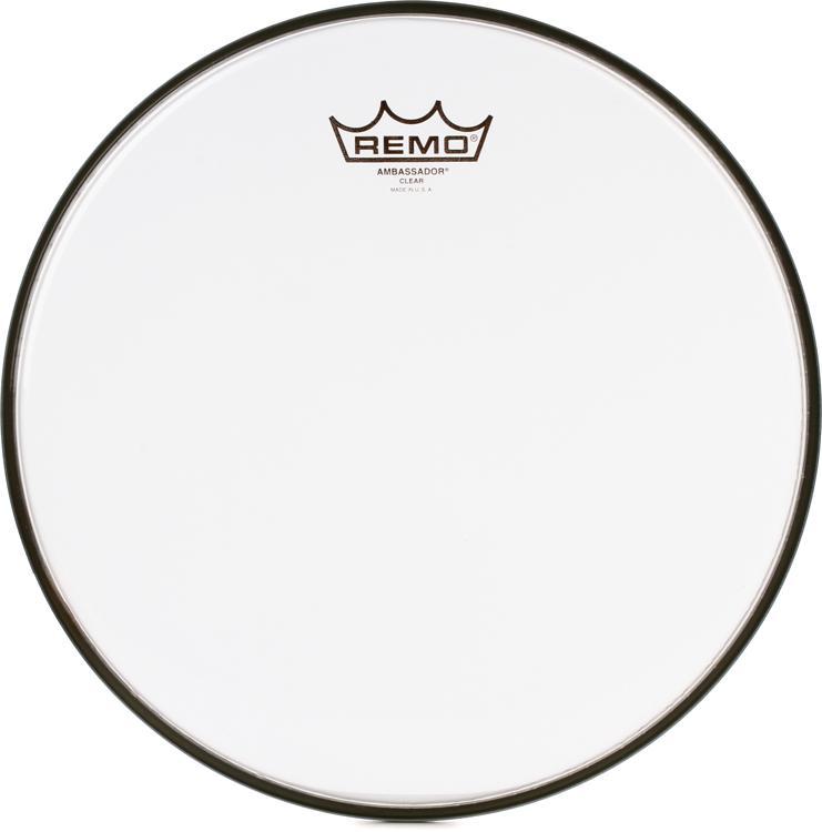 Remo Clear Ambassador Drum Head - 12