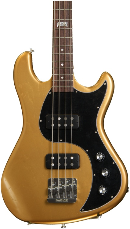 Gibson EB Bass - 2014, Bullion Gold Vintage gloss image 1