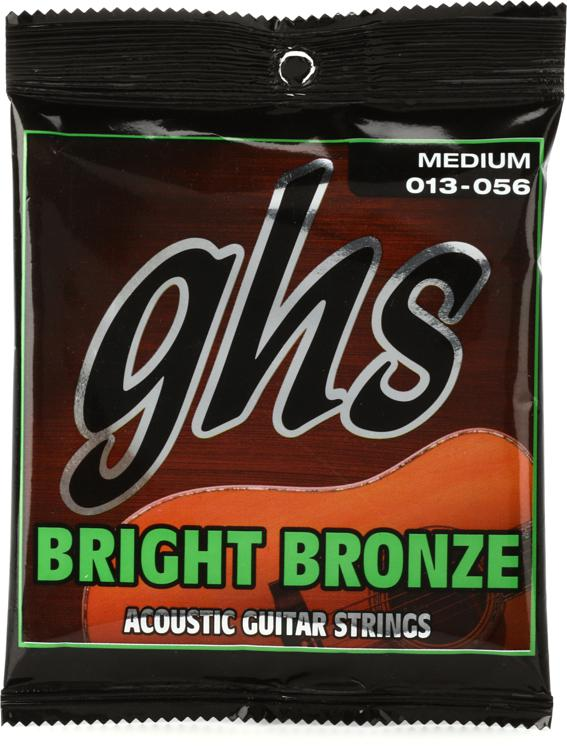 GHS BB40M Bright Bronze - 80/20 Bronze Medium Acoustic Guitar Strings image 1
