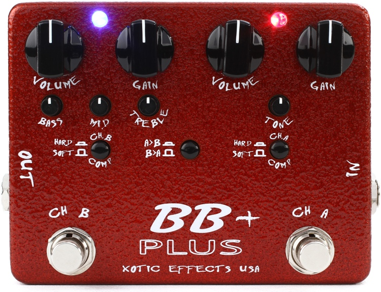 Xotic BB Plus Preamp and Boost Pedal image 1