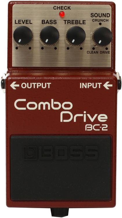 Boss BC-2 Combo Drive Pedal image 1