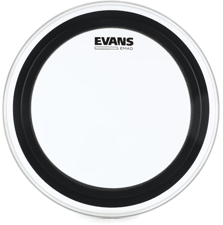 Evans EMAD Clear Bass Drum Batter Head - 16