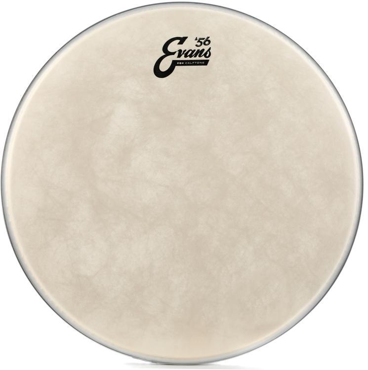 Evans EQ4 Calftone Bass Drumhead - 16