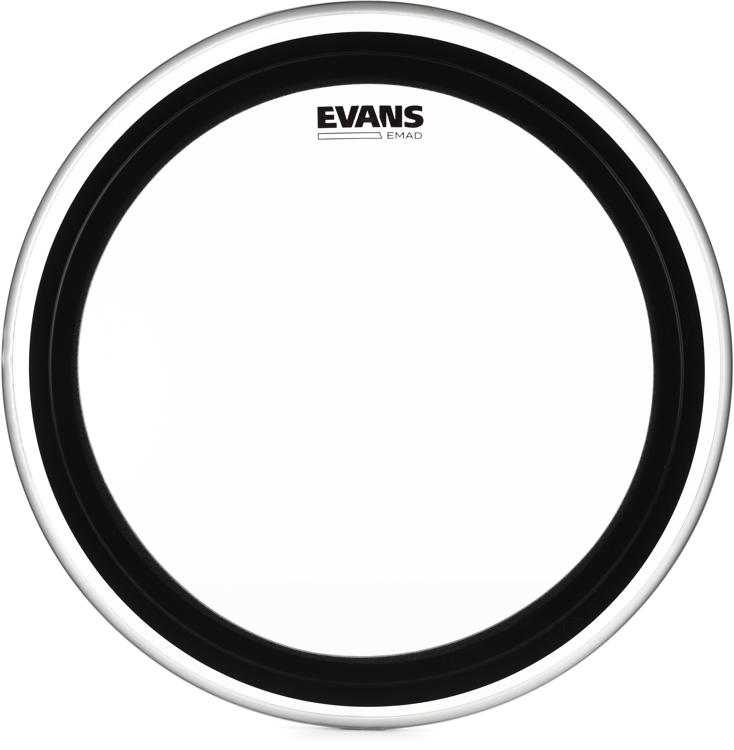 Evans EMAD Clear Bass Drum Batter Head - 20