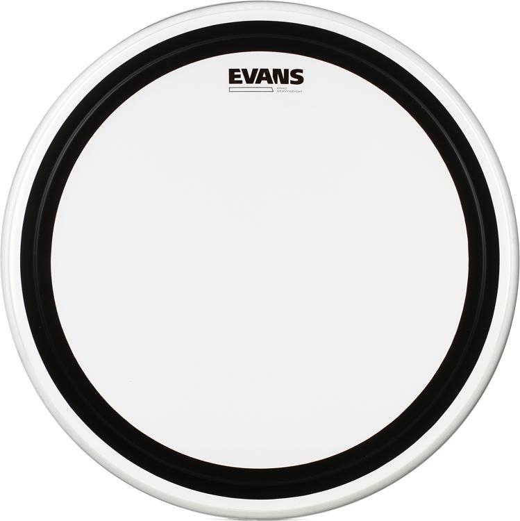 Evans EMAD Heavyweight Clear Bass Batter Head 20