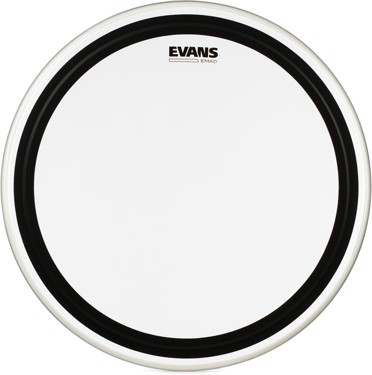 Evans EMAD Clear Bass Drum Batter Head - 22