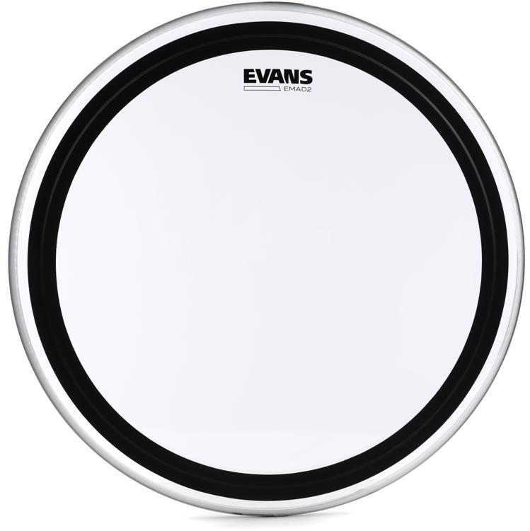 Evans EMAD2 Clear Bass Batter Head - 22