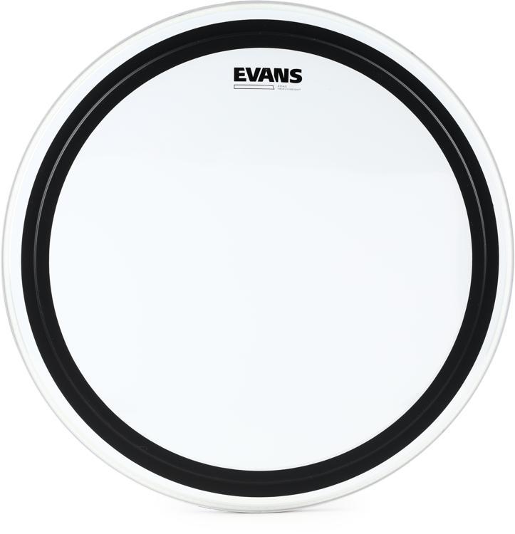 Evans EMAD Heavyweight Clear Bass Batter Head - 22