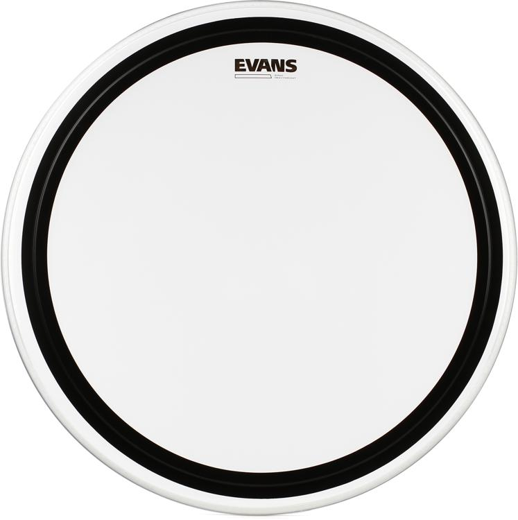 Evans EMAD Heavyweight Clear Bass Batter Head - 24
