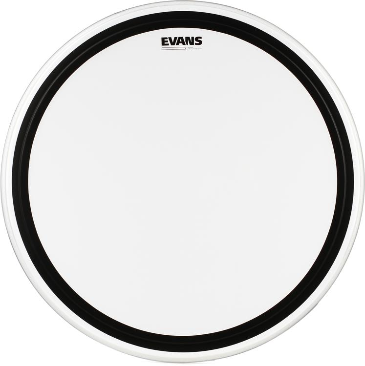 Evans EMAD Heavyweight Clear Bass Batter Head - 26