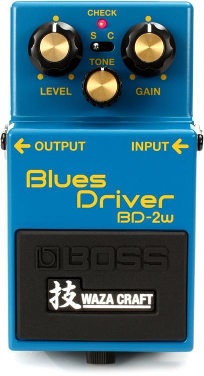 Boss BD-2W Waza Craft Blues Driver Pedal image 1